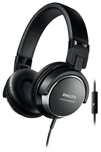 SHL3265BK/00 Mikrofonlu Siyah Kulaküstü Kulaklık-Philips